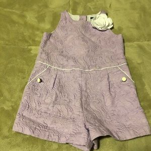 Janie and Jack Toddler Girl Romper